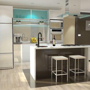 Ouvrir votre cuisine pour un aménagement tendance
